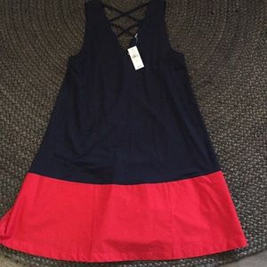 NWT Ann Taylor Loft colorblock dress size S